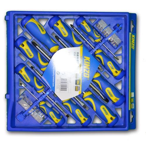 Kinzo Screwdriver Set 30 pcs Screwdriver Holder