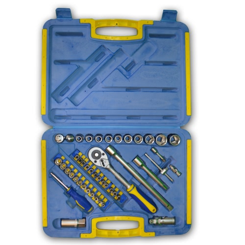 Kinzo Ratchet Wrench & Socket Bit Set Toolbox 45 pcs
