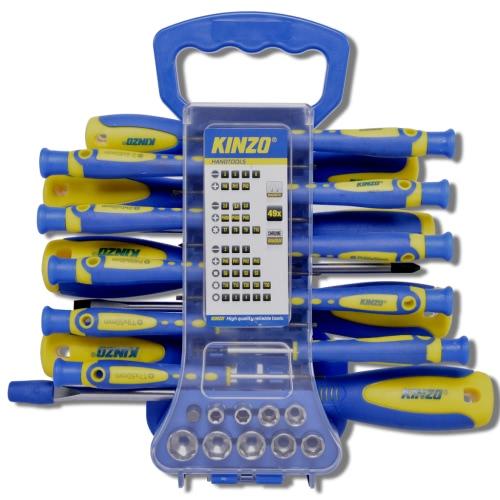KINZO Screwdriver Set 49 Bits