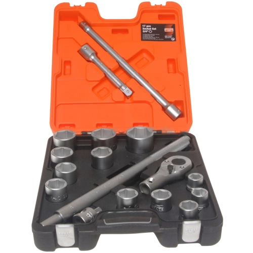 Bahco Socket Set 17-piece 3/4 Inch Drive