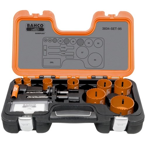 Bahco Professional Holesaw Set 16-64 mm