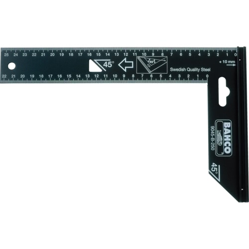Bahco Carpenter's Square 300 mm - Black