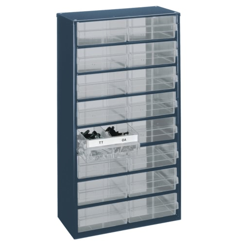 Raaco Cabinet 1216-04 with 16 Drawers 137423