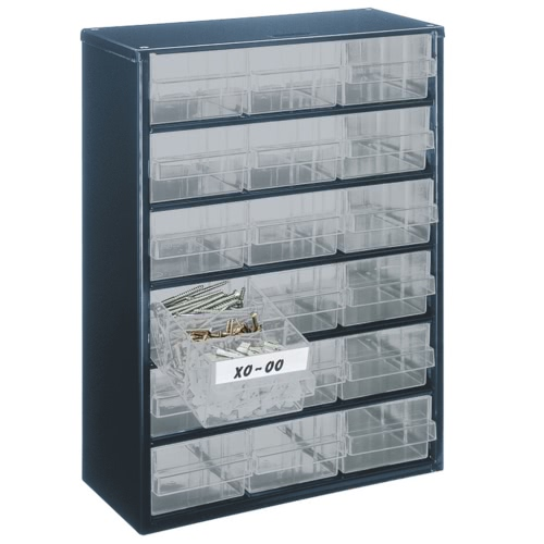 Raaco Cabinet 918-02 with 18 Drawers 137478