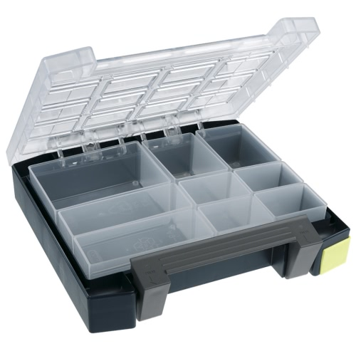 Raaco Assortment Box Boxxser 55 4x4 with 9 Inserts 138277