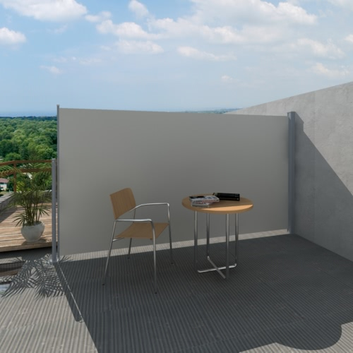 Hof Terrasse Side Markise 160 x 300 cm Cream Color