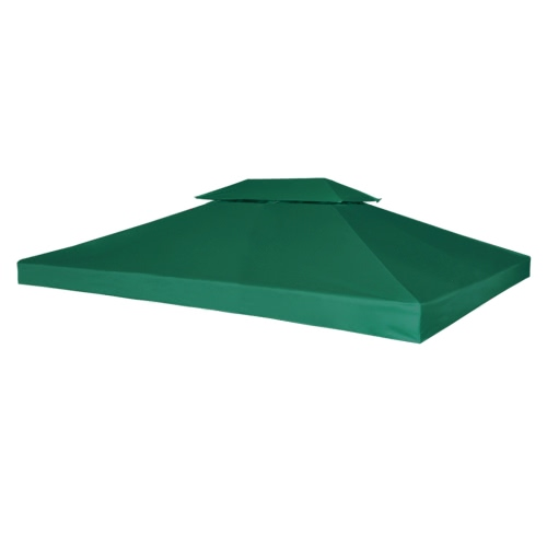 Water-proof Gazebo Cover Canopy 270 g / m² Green 3 x 4 m