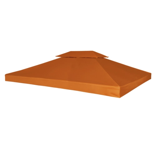 Water-proof Gazebo Cover Canopy 270 g/m² Terracotta 3 x 4 m