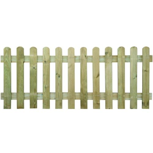 Picket Fence 200 x 80 cm Wood