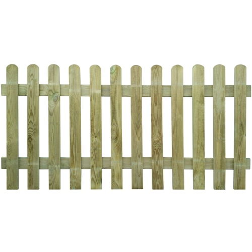 Picket Fence 200 x 100 cm Holz