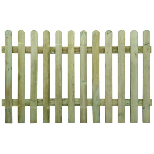 Picket Fence 200 x 120 cm Wood