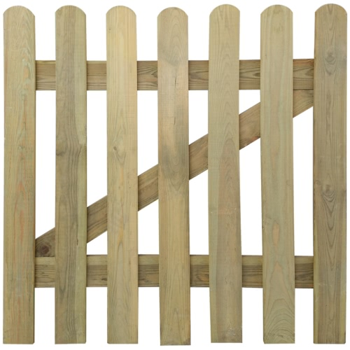 Wooden Garden Gate 100 x 100 cm