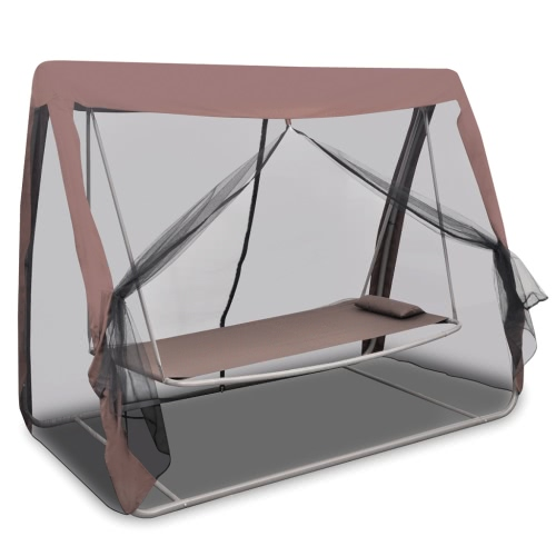 Garden Swing Bed with Mosquito Net