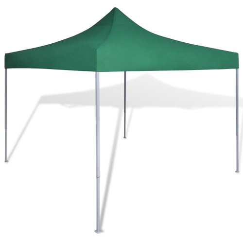 Green Foldable Tent 3 x 3 m