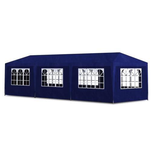 Синяя партия палатка с 8 Стеной 3 х 9 м