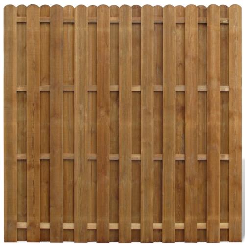 Vertical Hit de madera y panel de la cerca señorita