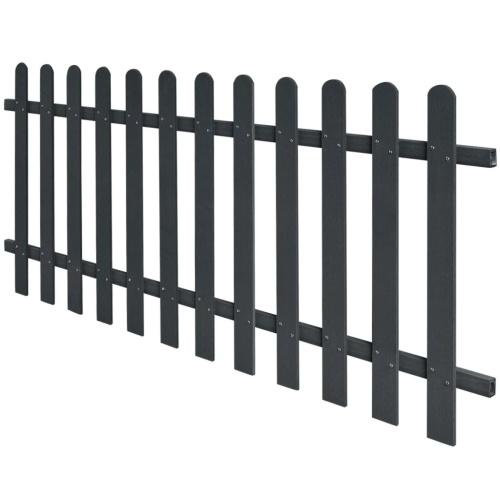 WPC Picket Fence 200x80 cm Серый