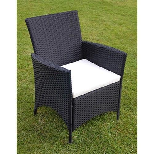 13 шт. Набор для садовой мебели Poly Rattan Black