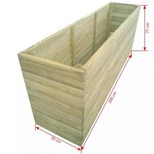 Садовый саженец Пропитанный сосновый лес 200x50x77 см