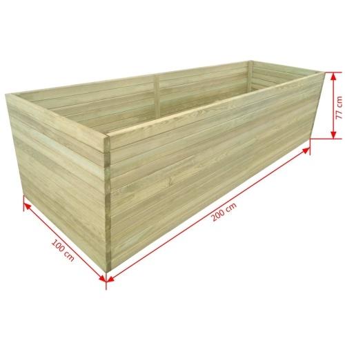 Садовый саженец Пропитанный сосновый лес 200x100x77 см