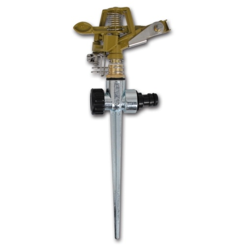 palo di metallo dello zinco su sprinkler impulso 2 parti