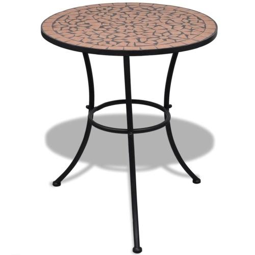Table mosaïque en terre cuite