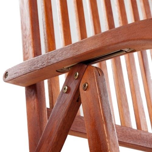 mobili sala da pranzo in legno per esterni sette pezzi