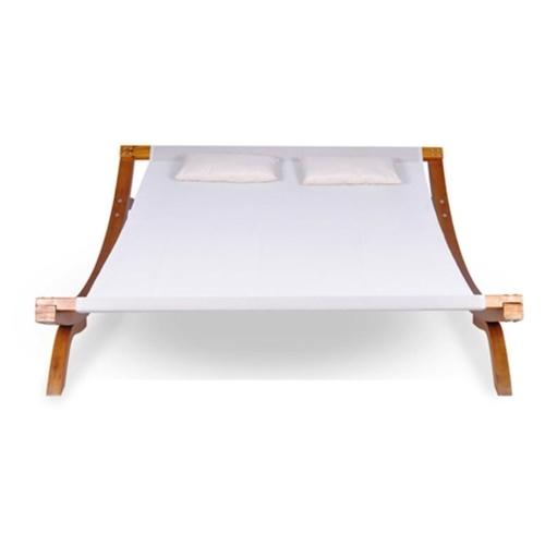 Chaise longue double Bois Blanc 200 x 188 x 42 cm