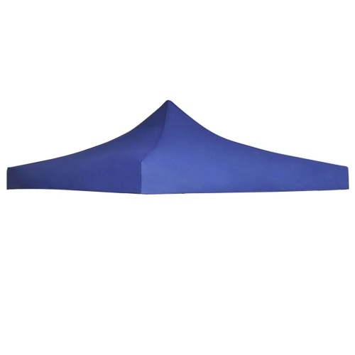 Festnight Roof Tent Reception Belvedere Roof 3 x 3 m UV and Water Resistance Blue