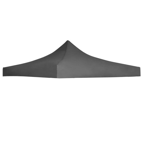 Festnight Roof Tent Reception Belvedere Roof 3 x 3 m UV and Water Resistance Anthracite