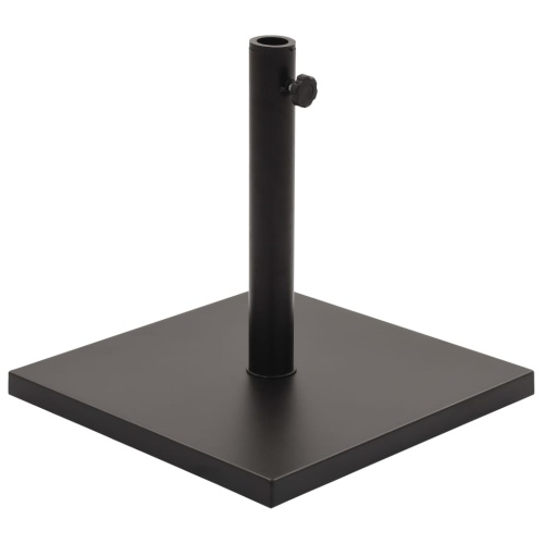 Festnight Umbrella Base Black Umbrella Base Square 11 kg