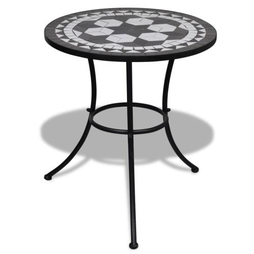 Home Retro 23.6 inch Mosaic Table