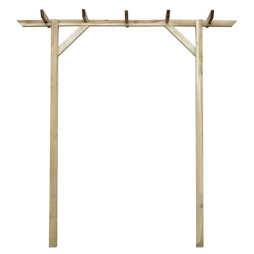 Пергола деревянная садовая 200 х 40 х 205 см
