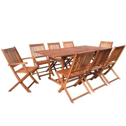 "Ensemble de salle à manger en neuf-neuf Acacia Wood 71 """