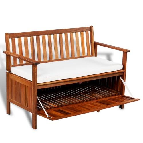 bagagli Banco di legno di acacia