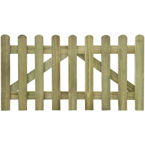 impregnated wood fence for about 2 pcs 300 x 80