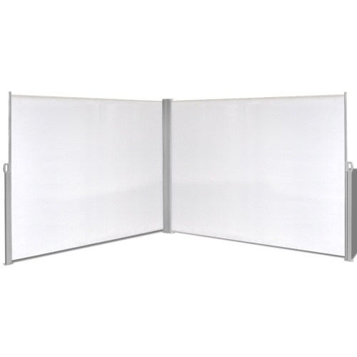 retractable awning lateral  180x600 cm cream