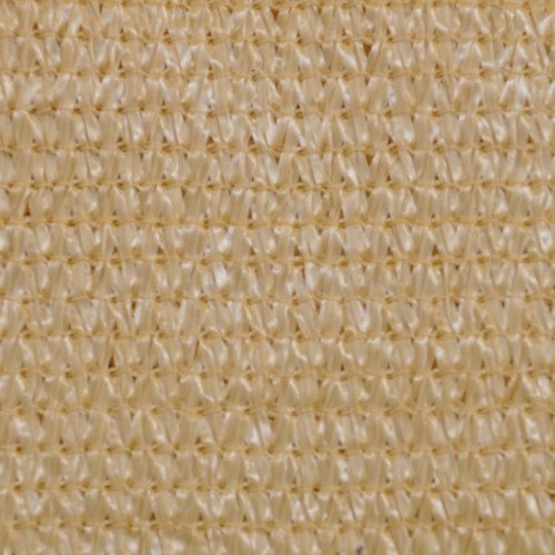 Rectangular sail awning 4x6 m HDPE beige