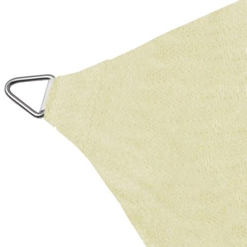 Crema parasole 11,8 'x11,8' di Square HDPE Sail