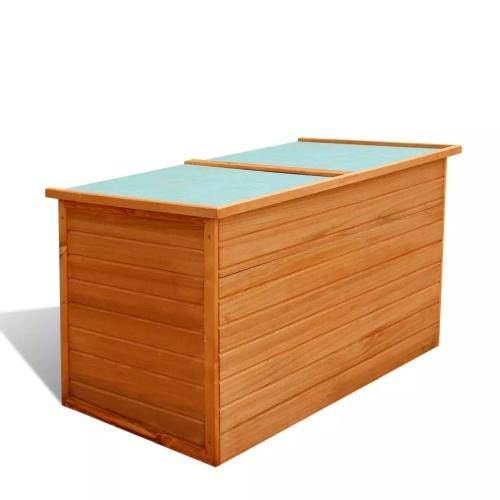 Садовый ящик для хранения древесины