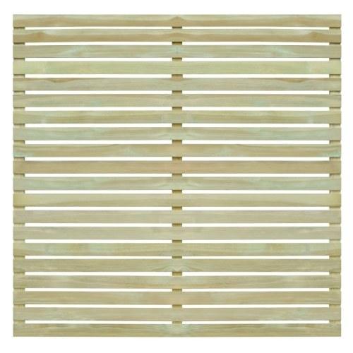?Garden fence panel impregnated pine wood 180x180 cm