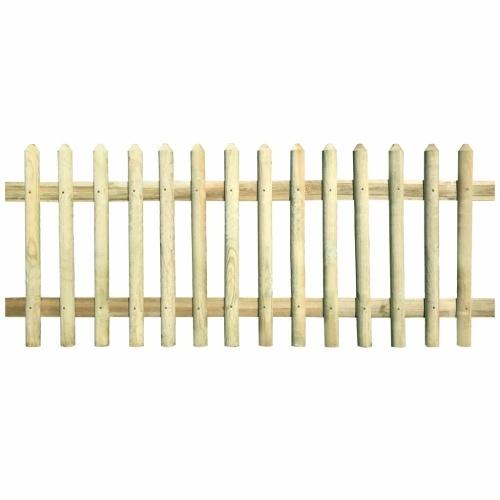 Pine wood fence impregnated 170x120 cm 5 / 7cm