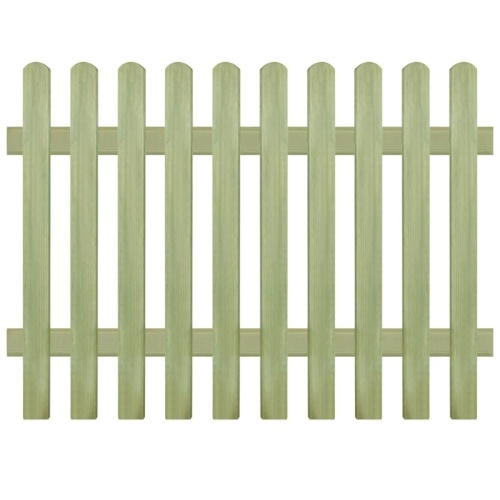 Pine wood fence impregnated 170x120 cm 6/9 cm