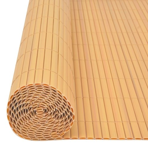 ?Double-sided garden fence 150x300 cm yellow