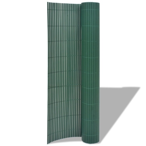 ?Double-sided garden fence 195x300 cm green