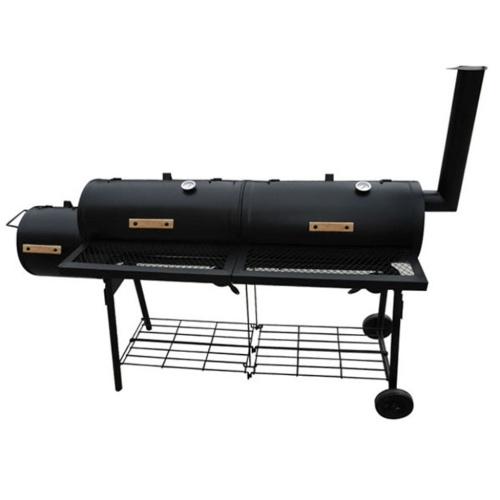 Barbecue con Affumicatore Nevada XL Nero