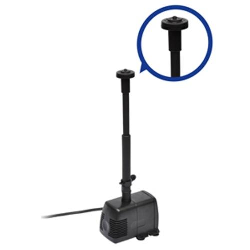 Pompa elettrica per fontane, 3 attacchi, 1000 lt./h