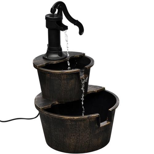 Fontana con Design a Pompa per Pozzi