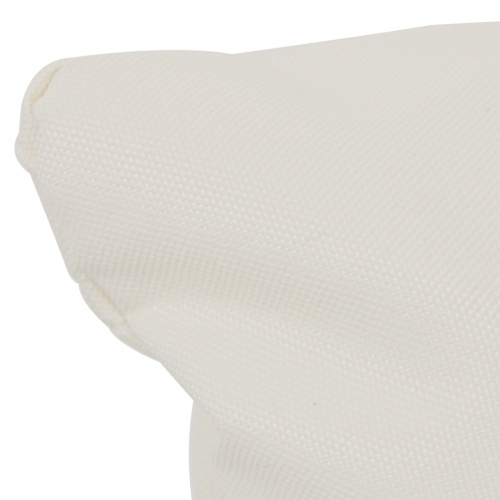 Cuscino per Altalena amaca all'aperto Bianco crema