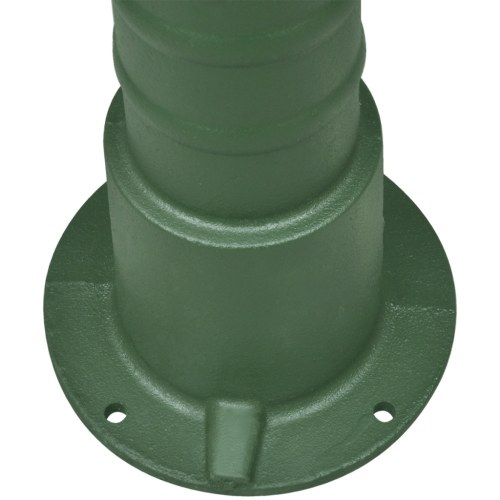 support for cast iron water pump